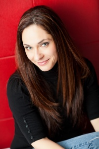"contemporary romance novelist, Kimberly Kincaid, ""splits the difference between sexy and sweet."""