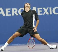 Behold, the birthing of the racquet