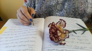flowerwriting